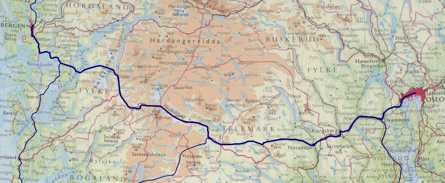 kart bergensbanen Kart bergensbanen – Reservedeler til hvitevarer kart bergensbanen